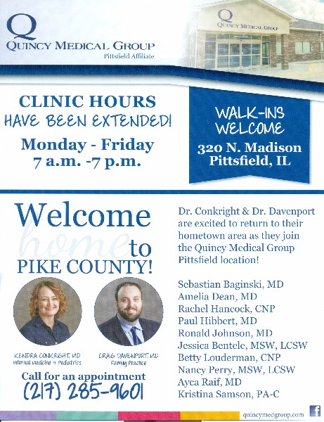 Meredosia-Chambersburg CUSD 11 - Quincy Medical Group Clinic